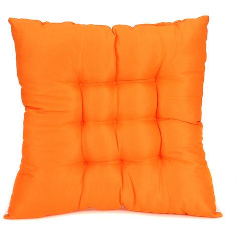 Chair Cushion Reclining Seat Cushion Square Soft Light Gray