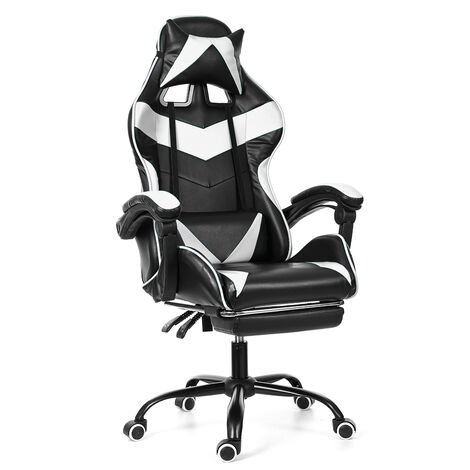 Chair Office Chair Gaming Gamer Swivel Racing Reclining 150 °
