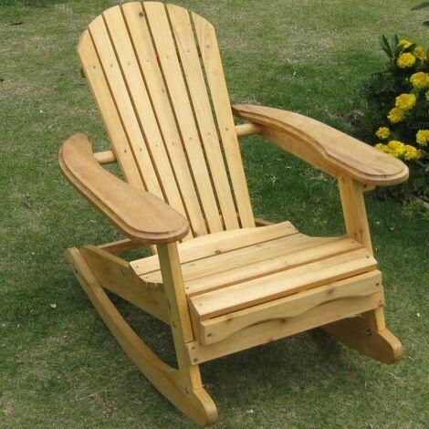 Chaise à bascule Kids Adirondack - Pour usage intérieur ou extérieur