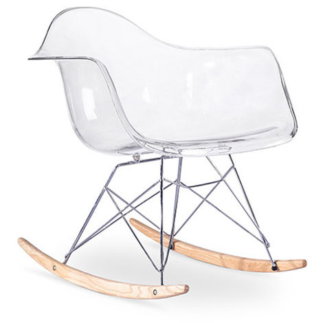 Chaise à bascule Rarwick - Transparent Transparent