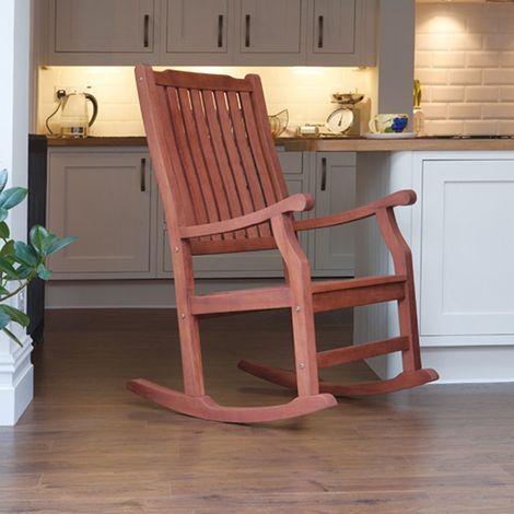 """Chaise à bascule traditionnelle Wellwood"""" pour la cuisine ou le patio"""""""