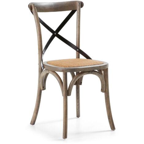 Chaise Alsie marron