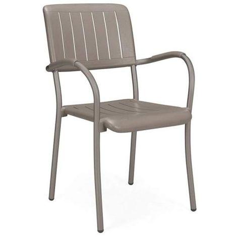 Chaise avec accoudoir Jardin & Terrasse Musa NARDI - Extérieur