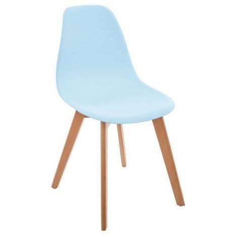 Chaise bleue scandinave pour enfant - Bleu