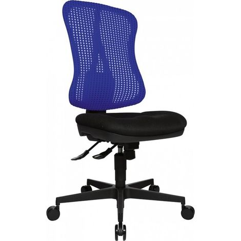 Chaise bureau tournante Head Point SY noir/bleu