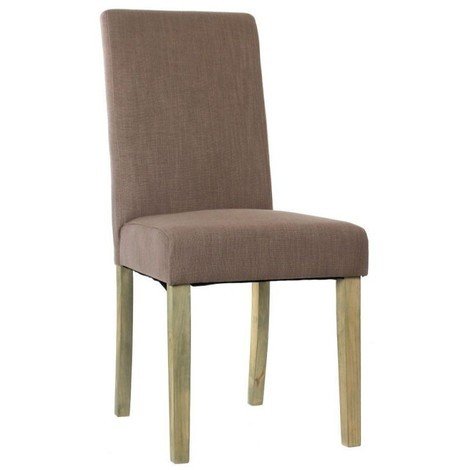 Chaise Cleva Taupe - Taupe
