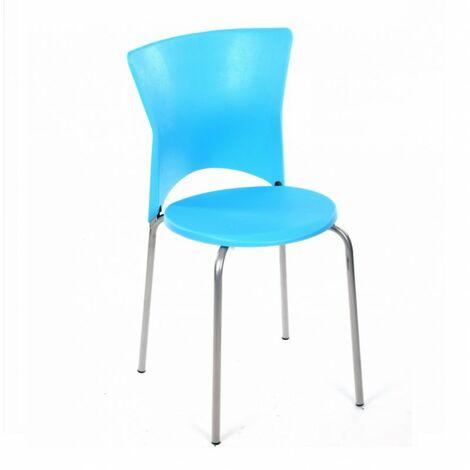 Chaise cuisine City bleu - Bleu