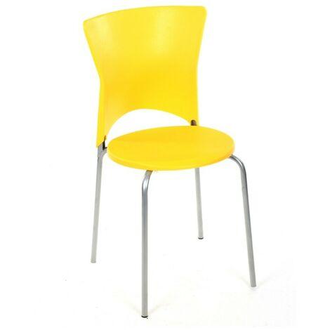 Chaise cuisine City jaune - Jaune