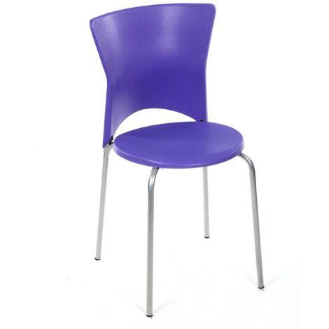 Chaise cuisine City violet - Violet