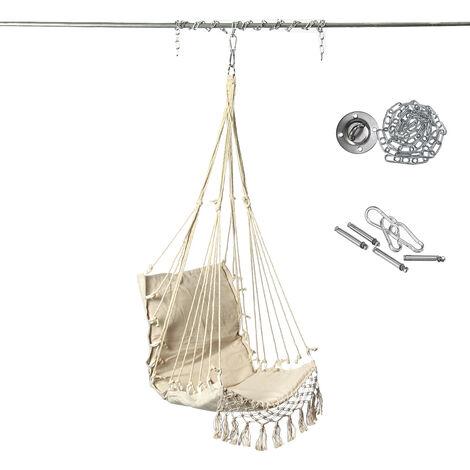 Chaise de balançoire suspendue hamac