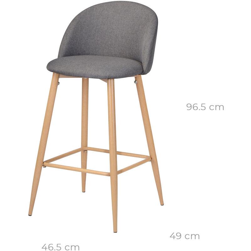 Grise Cozy 5 Chaise Bar 2 Cmlot De 72 AL5j4R