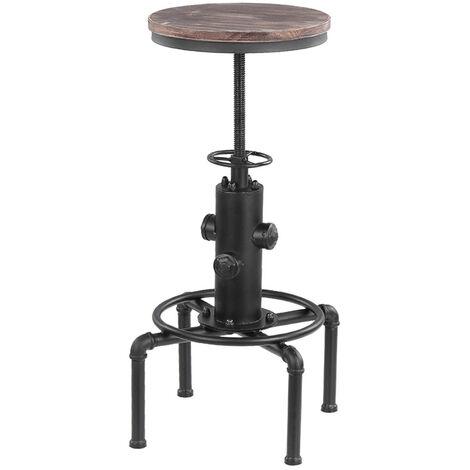 Chaise de bar de style industriel retro Tabouret de bar Chaise de salle a manger FS-11