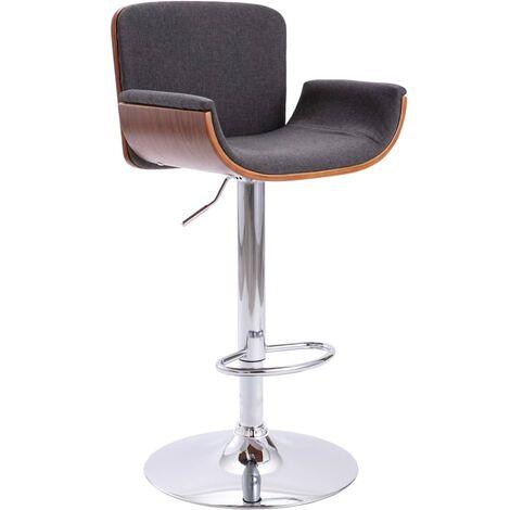Chaise de bar Gris Tissu