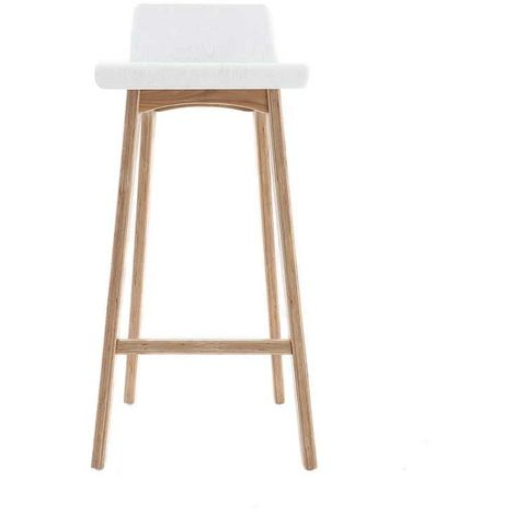 Chaise de bar scandinave 75 cm BALTIK