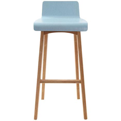 Chaise de bar scandinave 75 cm BALTIK