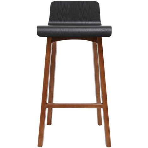 Chaise de bar scandinave bois 65 cm BALTIK