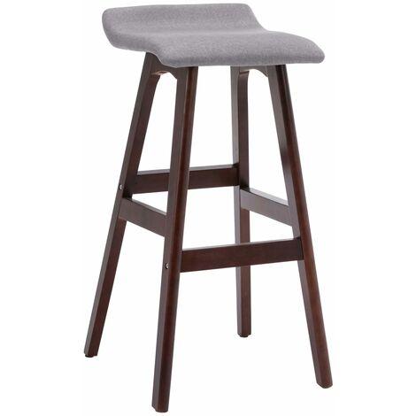 Chaise de bar Taupe Tissu
