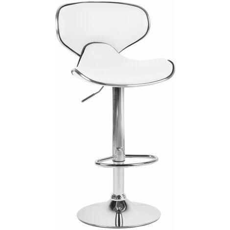 Chaise de bar tournante réglable en hauteur