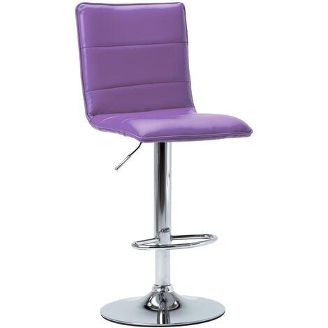 Chaise de bar Violet Similicuir