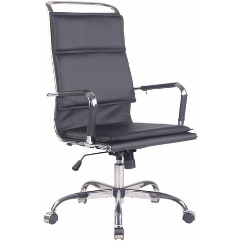 Chaise de bureau Bedford en similicuir
