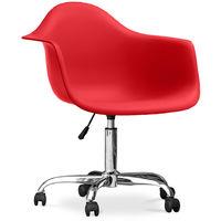 Chaise de bureau Darrwick Rouge