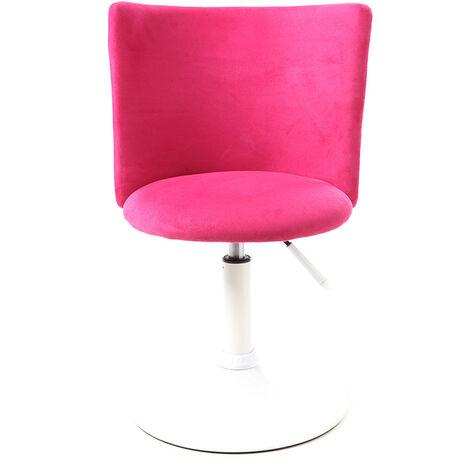 Chaise De Bureau Enfant Rose Et Blanche New Marchande 20980