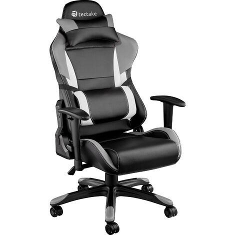"main image of ""Chaise gamer avec coussin de tête et lombaires TRINITY"""