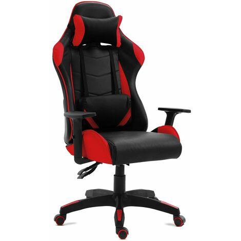 Chaise de bureau gaming fauteuil bureau inclinable et giratoire