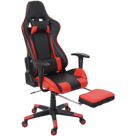 Chaise de bureau HHG-598 XXL, capacité 150kg, similicuir