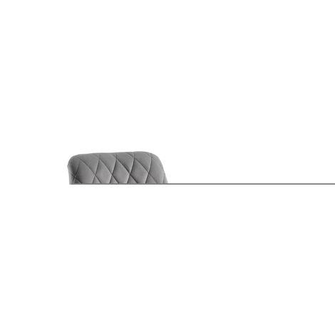 Chaise de bureau réglable - Scandinave - Gris - 69 x 69 x 86-97cm