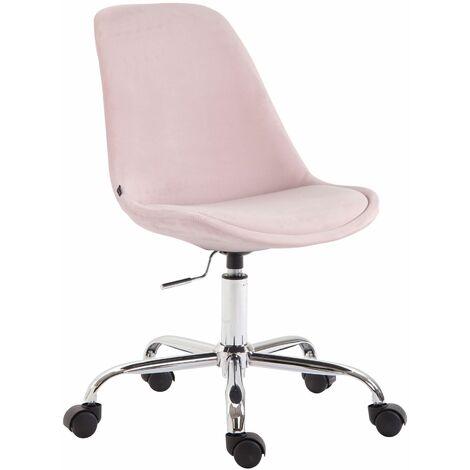 Chaise de bureau Toulouse en velours