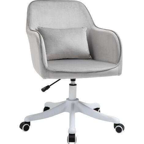 """main image of """"Chaise de bureau massante velours"""""""