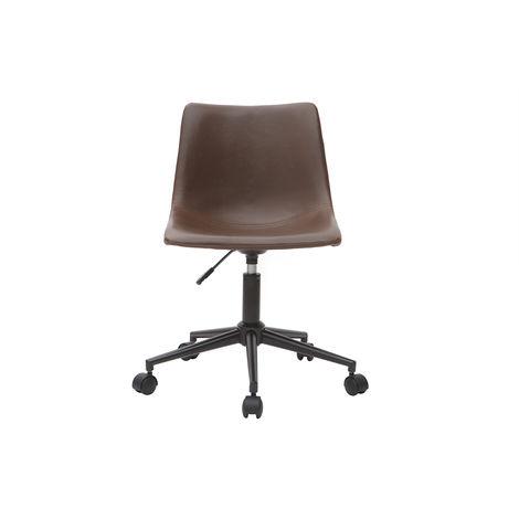 Chaise de bureau vintage marron NEW ROCK