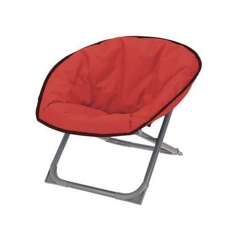 Chaise De Camping Pliable Pour Enfant Rouge