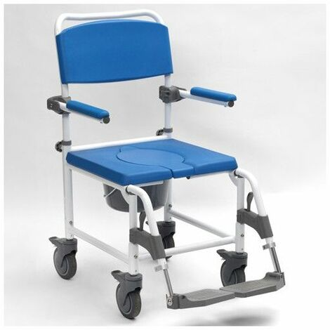 Chaise de douche Aston - 46 cm - Bleu