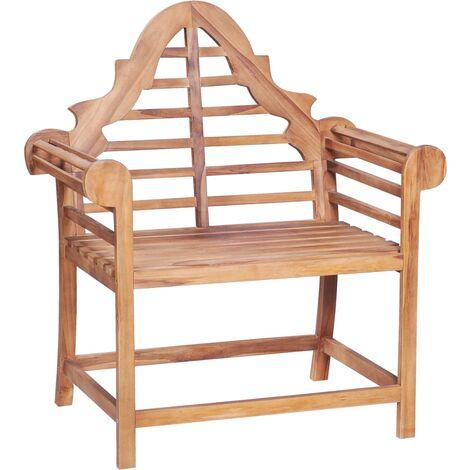 Chaise de jardin 89x63x102 cm Teck solide