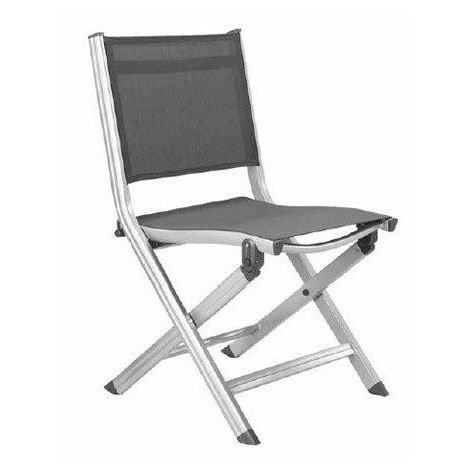 Chaise de jardin BASIC pliable en aluminium - Couleur chaise ...