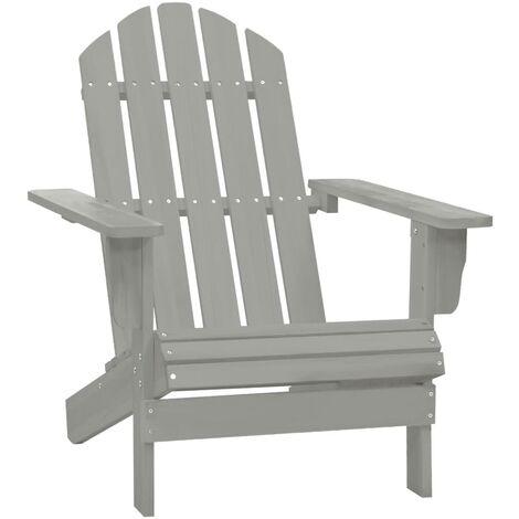 Chaise de jardin Bois Gris