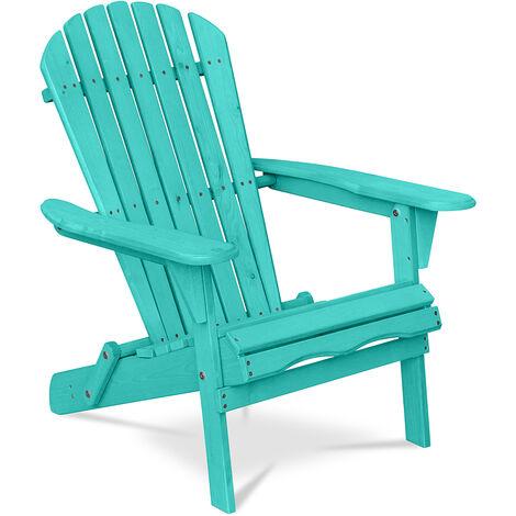 Chaise de jardin de style Adirondack - Bois Vert