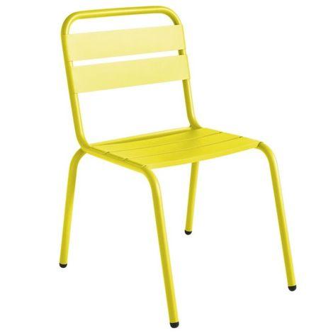 Chaise de jardin design Barceloneta ISIMAR - Extérieur