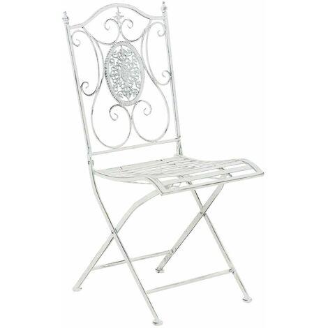 Chaise de jardin en métal Sibell