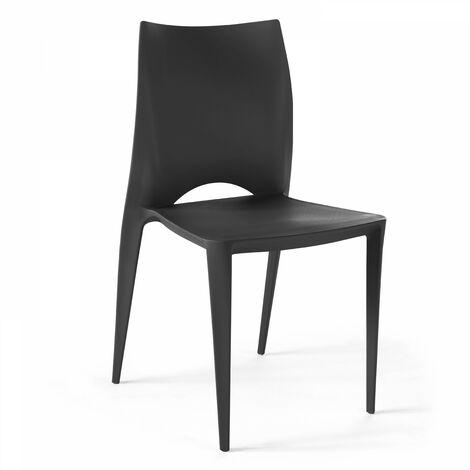 De Jardin Noir Plastique 103369 En Chaise I7gvfby6Y