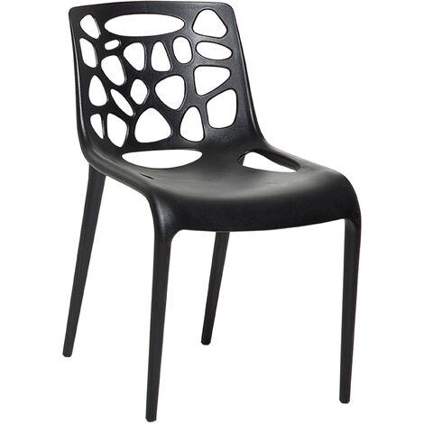 Chaise de jardin en plastique haut de gamme