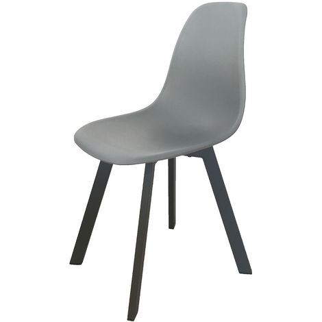 Chaise de jardin moderne Ibis - Taupe - Taupe