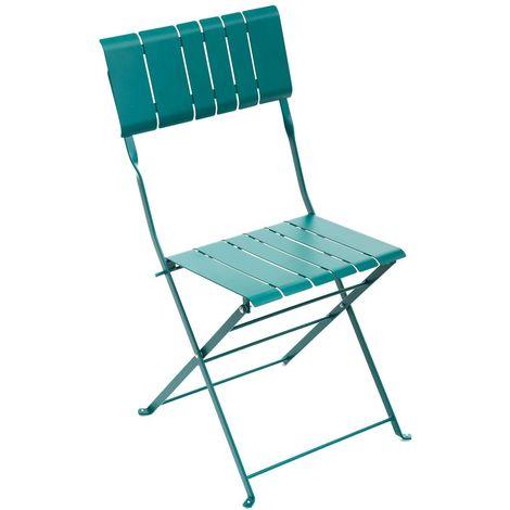 Chaise de jardin pliable design Nasca - Vert yucca - Vert