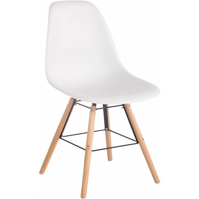 Chaise de Jardin Tippo Pour l'intérieur et l'extérieur blanc Nature