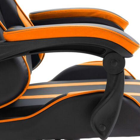 Chaise de jeu Orange PU