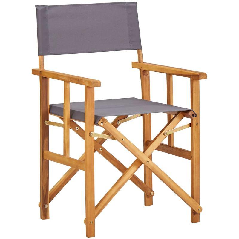 Chaise de metteur en scene Bois massif d'acacia