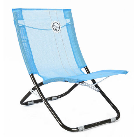 Chaise de plage - Structure Pliable et Confortable