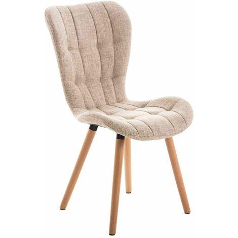 Chaise de salle à manger Elda tissu